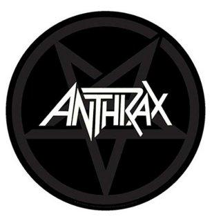 ANTHRAX Pentathrax, バックパッチ