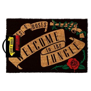 GUNS N' ROSES Welcome To The Jungle, ドアマット