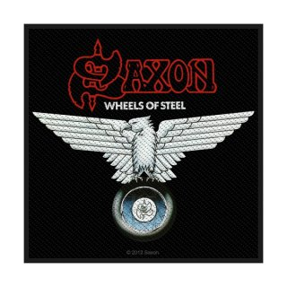SAXON Wheels Of Steel, パッチ