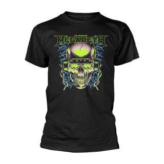 MEGADETH 35 Years H/Phones Skull, Tシャツ