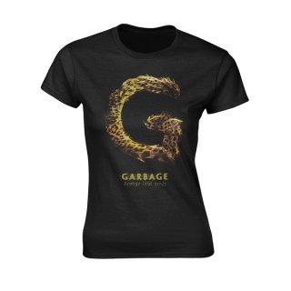 GARBAGE Strange Little Birds, レディースTシャツ