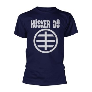 HUSKER DU Circle Logo 1, Tシャツ