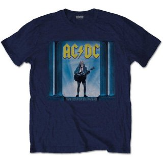 AC/DC Who Made Who Nvy, Tシャツ