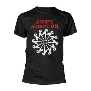 JANE'S ADDICTION Lady Wheel, Tシャツ