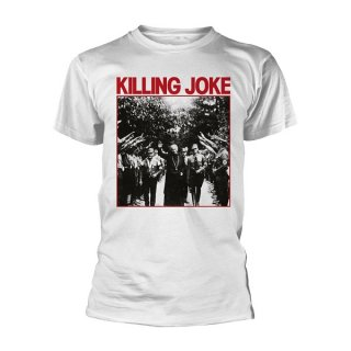 KILLING JOKE Pope (white), Tシャツ
