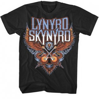 LYNYRD SKYNYRD Crossed Guitars, Tシャツ