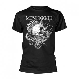MESHUGGAH Spine Head Blk, Tシャツ