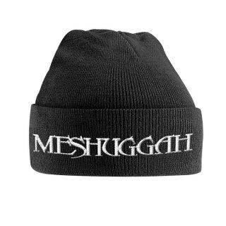 MESHUGGAH White Logo, ニットキャップ
