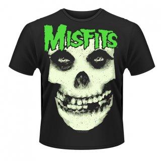 MISFITS Glow Jurek Skull 2, Tシャツ