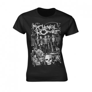 MY CHEMICAL ROMANCE Dead Parade, レディースTシャツ