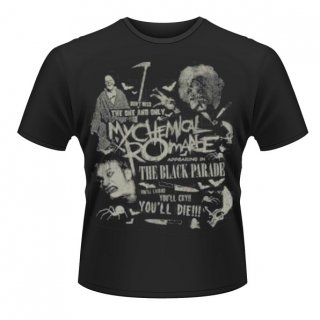 MY CHEMICAL ROMANCE Scary, Tシャツ