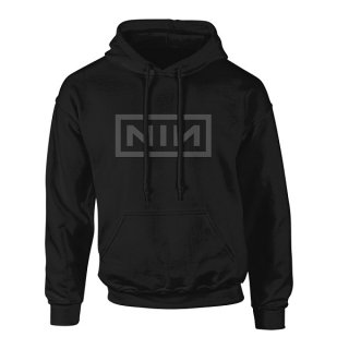 NINE INCH NAILS Classic Grey Logo, パーカー