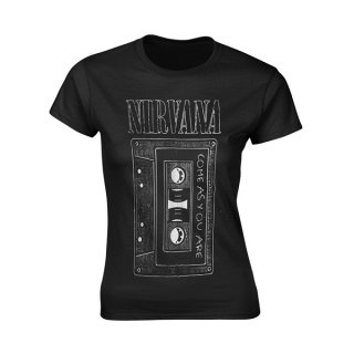 NIRVANA As You Are, レディースTシャツ