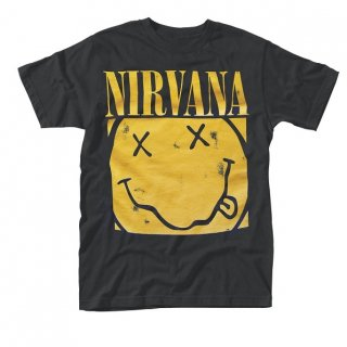 NIRVANA Box Smiley, Tシャツ