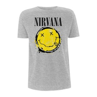 NIRVANA Smiley Splat, Tシャツ