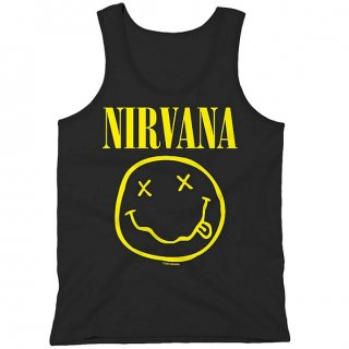 NIRVANA Smiley Vest, タンクトップ