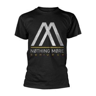 NOTHING MORE Album Logo, Tシャツ