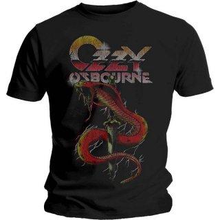 OZZY OSBOURNE Vintage Snake, Tシャツ
