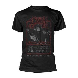 OZZY OSBOURNE Vintage Japan Flyer, Tシャツ