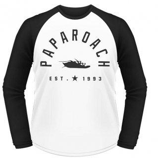 PAPA ROACH Est 1993, ラグランロングTシャツ