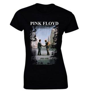 PINK FLOYD Burning Man, レディースTシャツ
