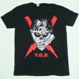 S.O.D. Scrawled Lightning, Tシャツ