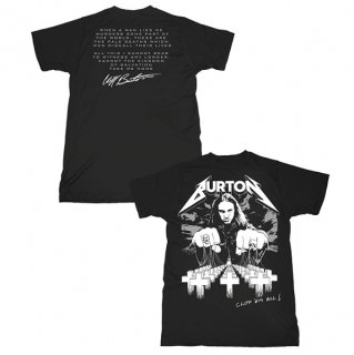 METALLICA Cliff Burton Cliff Em All, Tシャツ