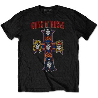 GUNS N' ROSES Vintage Cross, Tシャツ