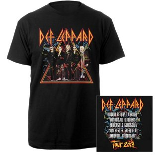 DEF LEPPARD 2018 Tour Photo, Tシャツ