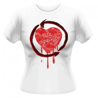 RISE AGAINST Rough Heart, レディースTシャツ