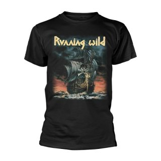 RUNNING WILD Under Jolly Roger Album, Tシャツ