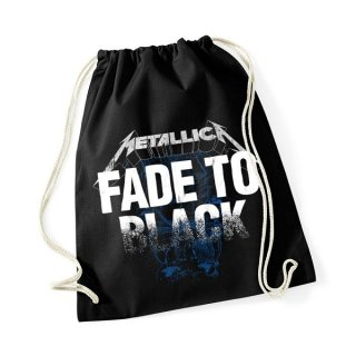 METALLICA Fade To Black, ドローストリングバッグ