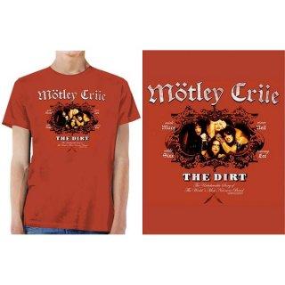 MOTLEY CRUE The Dirt, Tシャツ