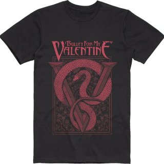 BULLET FOR MY VALENTINE Red Snake, Tシャツ