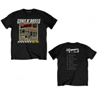 GUNS N' ROSES Lies Track List, Tシャツ