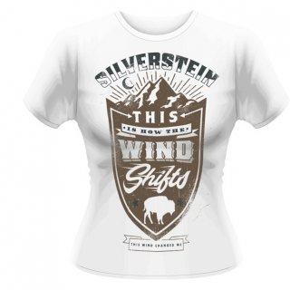 SILVERSTEIN Crest, レディースTシャツ