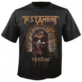 TESTAMENT Demonic 2017, Tシャツ