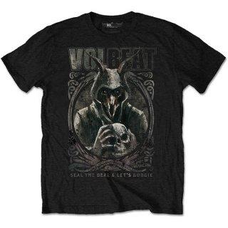 VOLBEAT Goat With Skull, Tシャツ