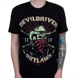 DEVILDRIVER Outlaw Mascot, Tシャツ