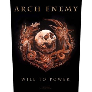 ARCH ENEMY Will To Power, バックパッチ