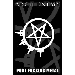 ARCH ENEMY Pure Fucking Metal, 布製ポスター