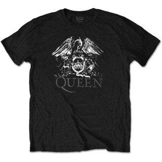 QUEEN Crest Logo Diamante, Tシャツ