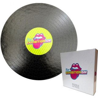THE ROLLING STONES Exhibitionism Record Round, ジグソーパズル