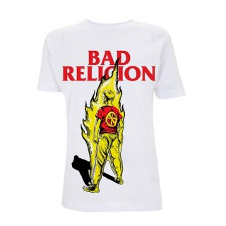 BAD RELIGION Boy On Fire, Tシャツ