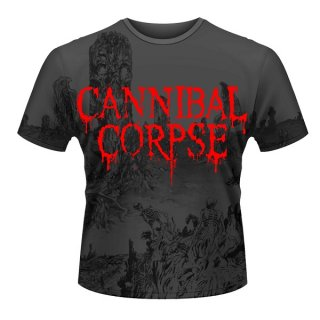CANNIBAL CORPSE A Skeletal Domain (all-over Print), Tシャツ