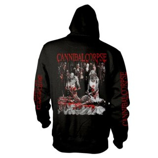 CANNIBAL CORPSE Butchered At Birth (explicit), Zip-Upパーカー