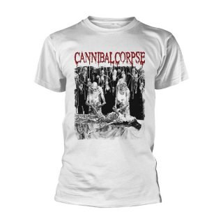 CANNIBAL CORPSE Butchered At Birth (white), Tシャツ