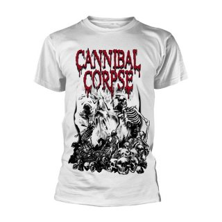 CANNIBAL CORPSE Pile Of Skulls (white), Tシャツ