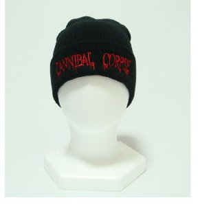 CANNIBAL CORPSE Red Logo, ニットキャップ