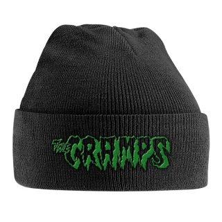 THE CRAMPS Green Logo, ニットキャップ